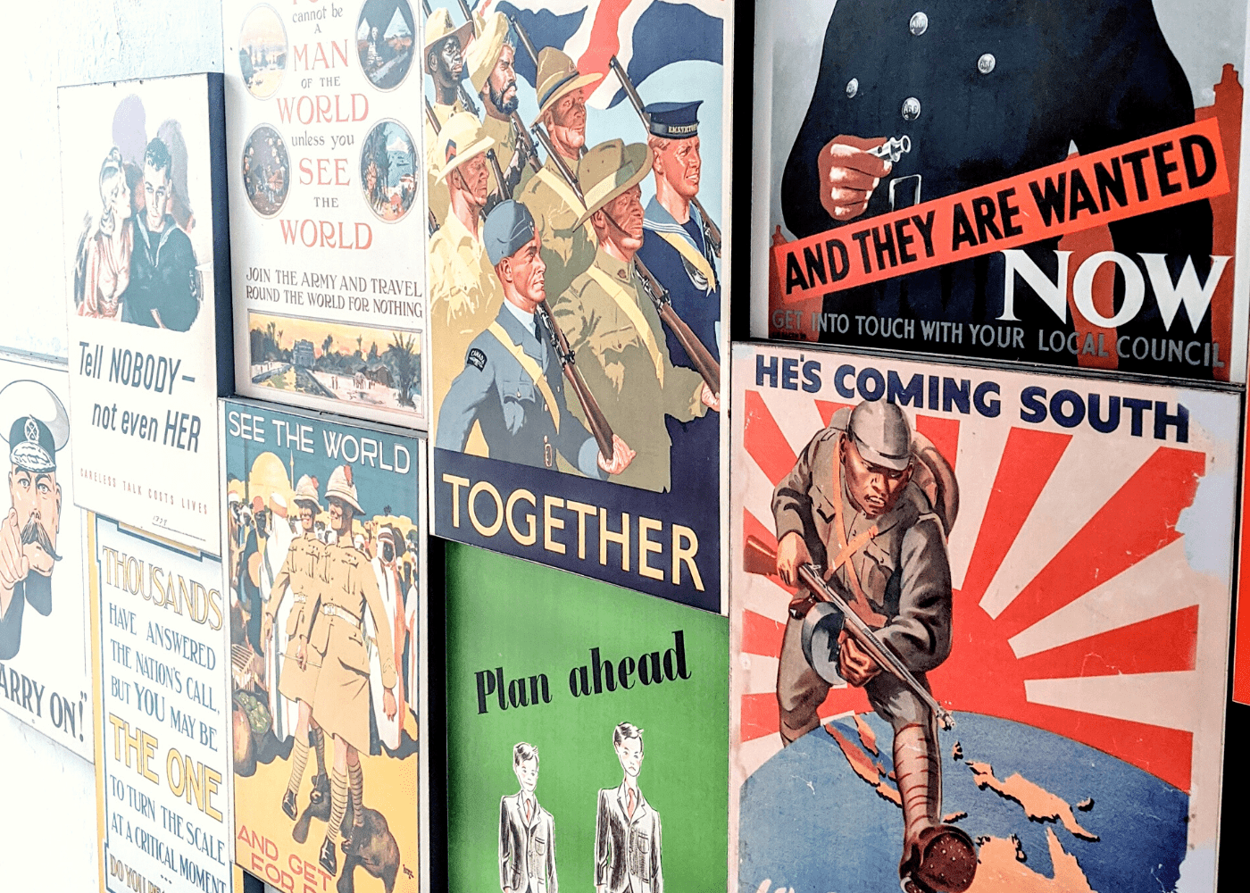 Our guide to Fort Siloso: WWII posters