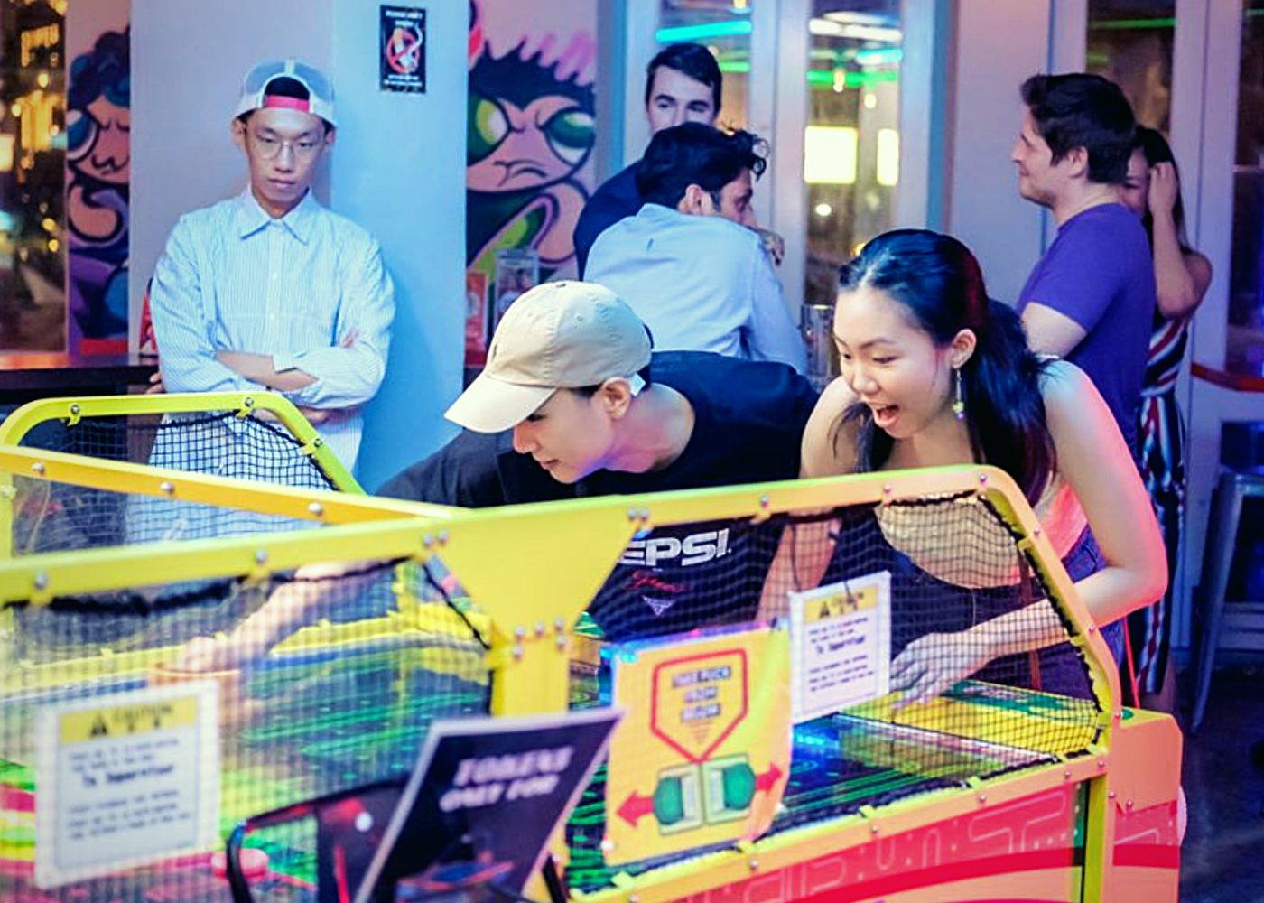 Best arcade bars and clubs in Singapore: Level Up