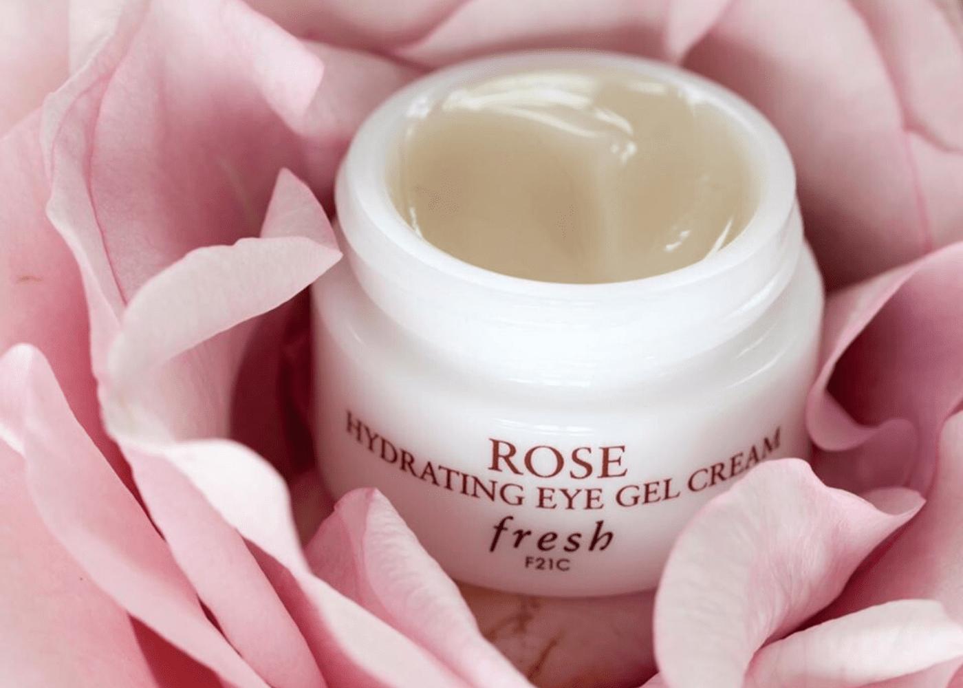 Fresh Rose Hydrating Eye Gel Cream | best eye creams