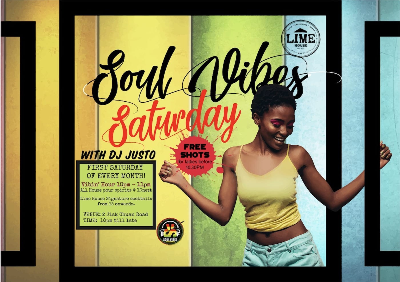 Experience the best of Caribbean culture at Lime House's Soul Vibes Saturday