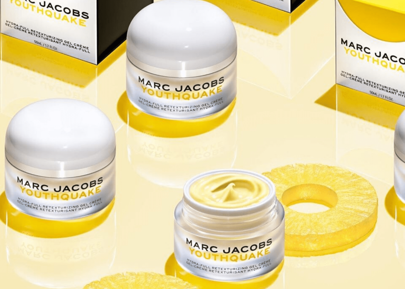 Marc Jacobs Youthquake Hydra-full Retexturising Gel Creme Moisturiser | Honeycombers Singapore beauty review | April 2020