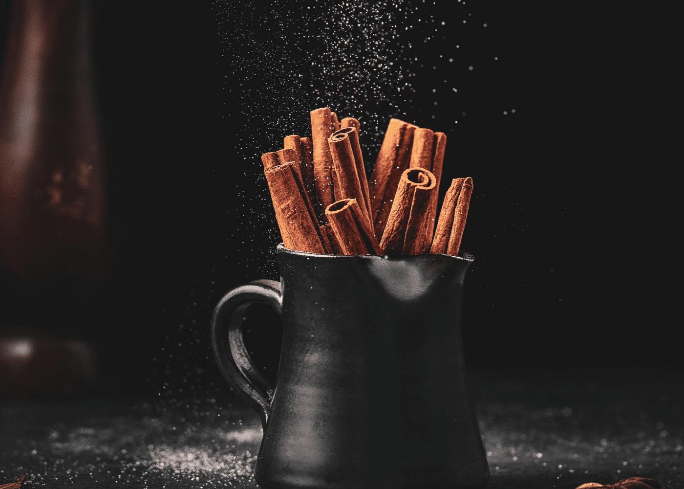 natural sweeteners: cinnamon