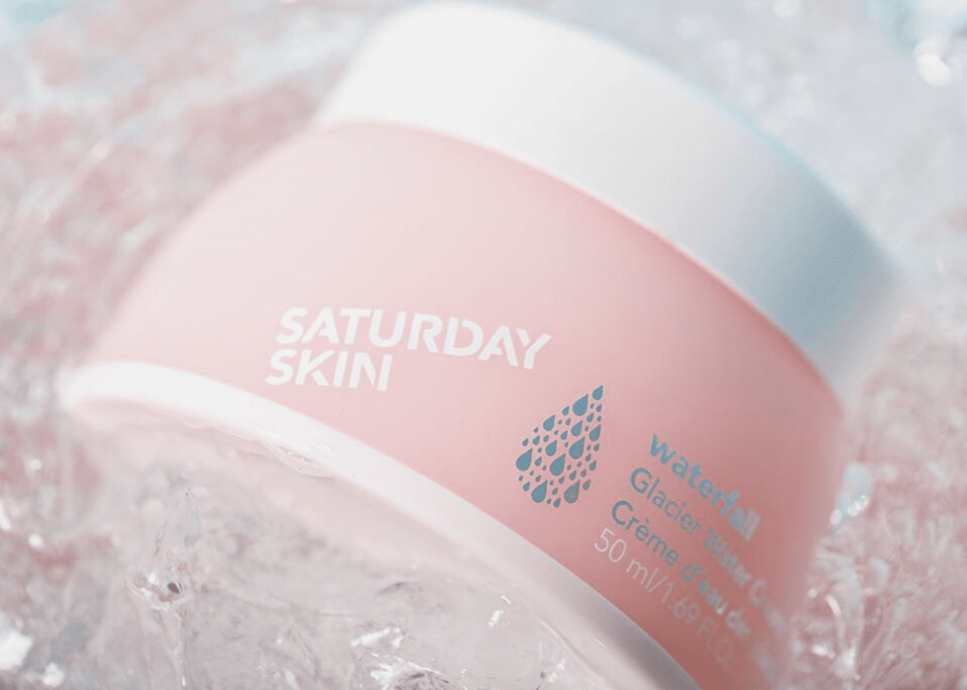 Saturday Skin Waterfall Glacier Water Cream | Honeycombers Singapore beauty review | April 2020