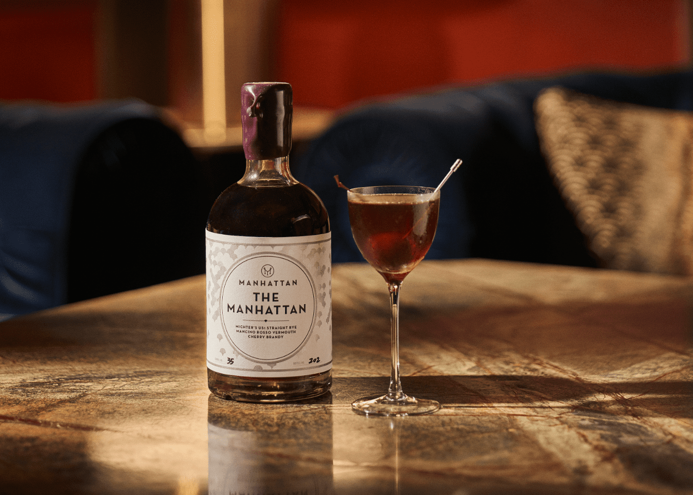 The Manhattan | takeaway cocktails in Singapore