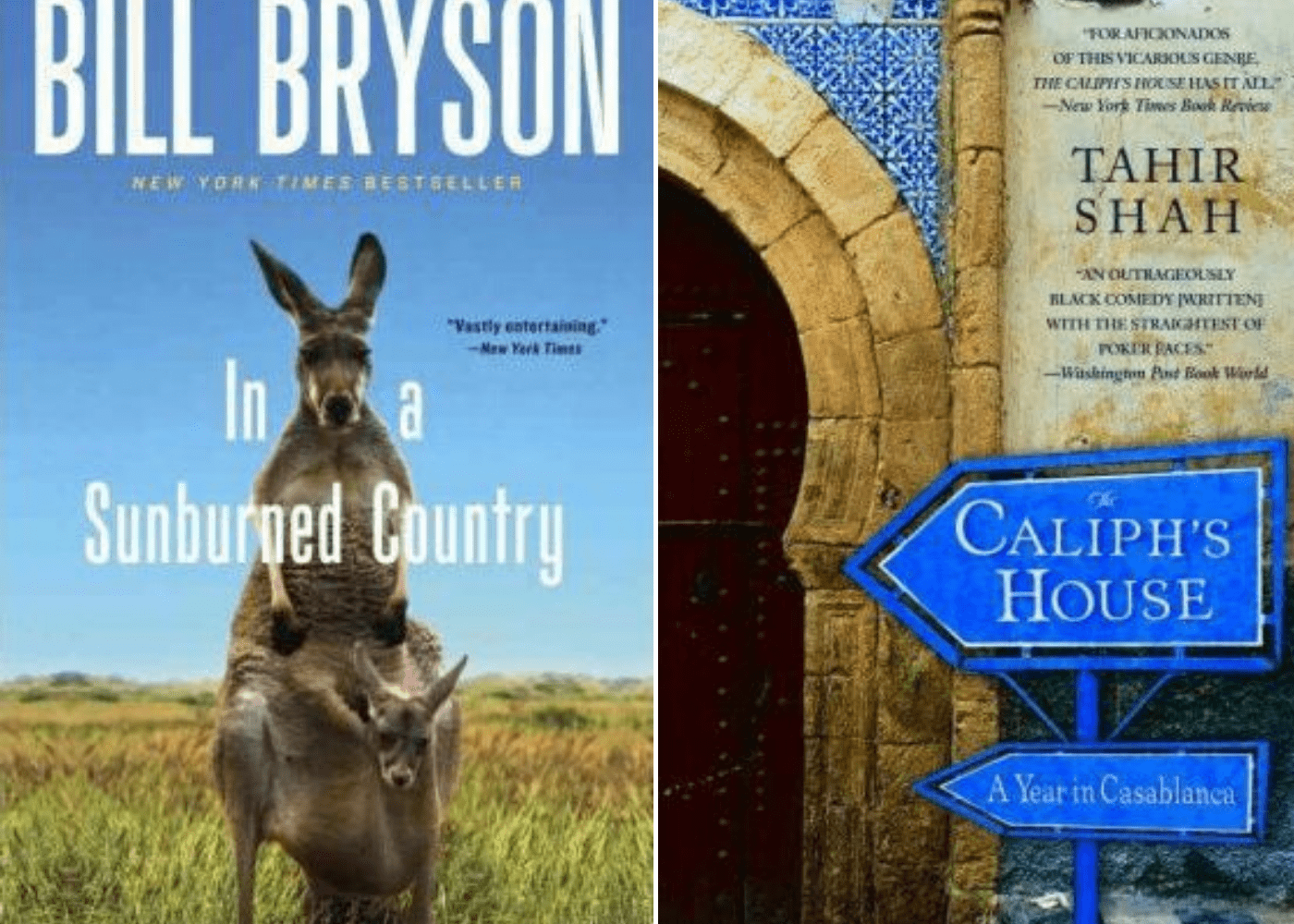 In A Sunburned Country | The Caliph's House: A Year in Casablanca | Honeycombers Book Club