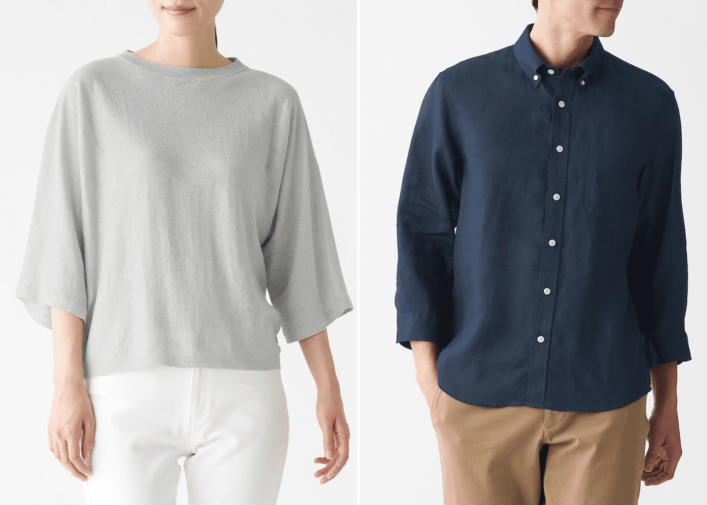 Calling all shopaholics! Build your minimalist wardrobe with Muji's latest Spring/Summer collection