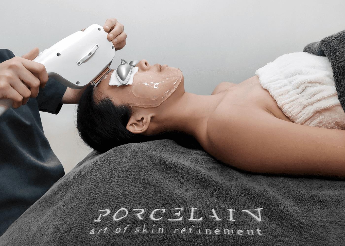porcelain cryozap facial