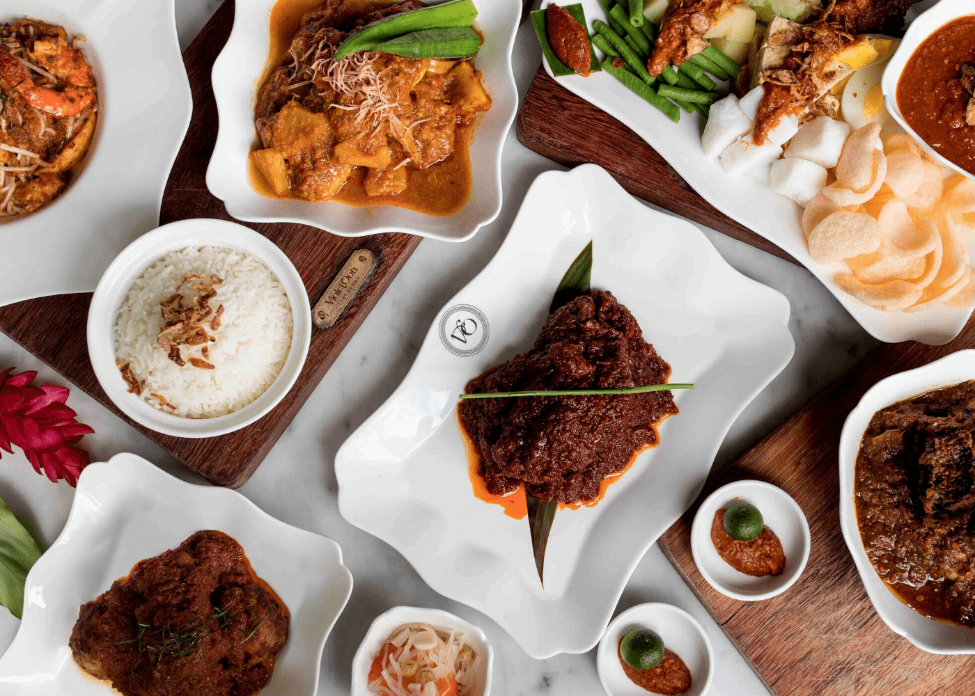 Violet Oon   restaurant delivery in Singapore