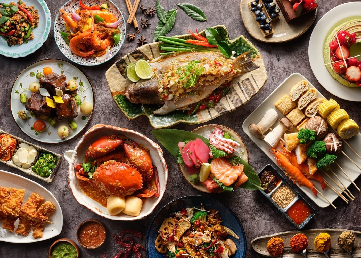 1-for-1 Weekday Dinner Buffet at Edge