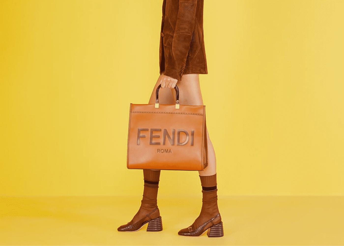 Spring Summer 2020 designer bags to shop online: Fendi Sunshine