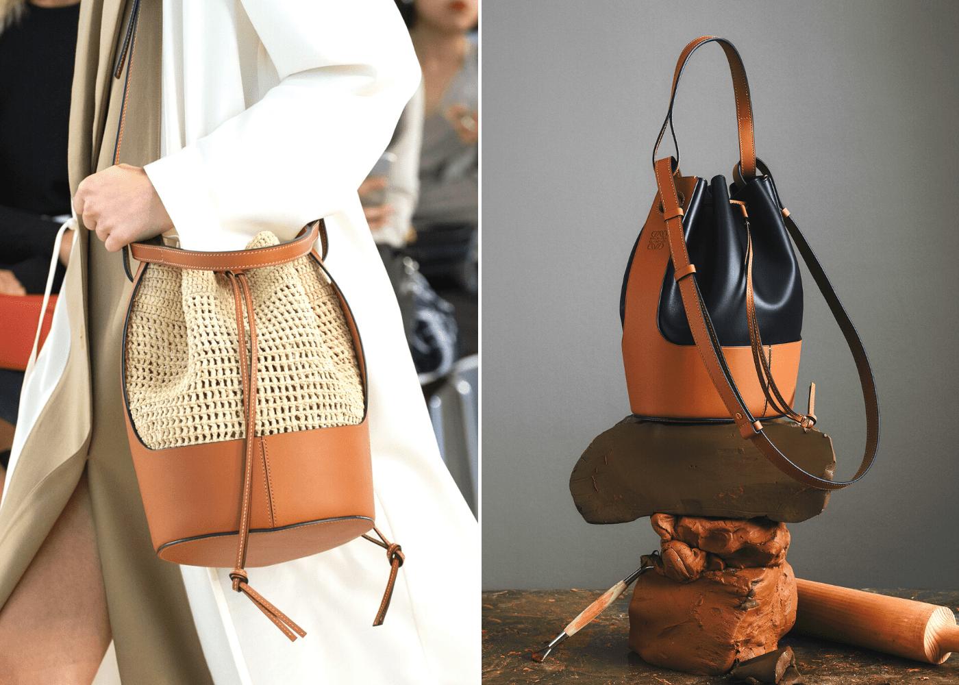 Spring Summer 2020 designer bags to shop online: Loewe Balloon bag