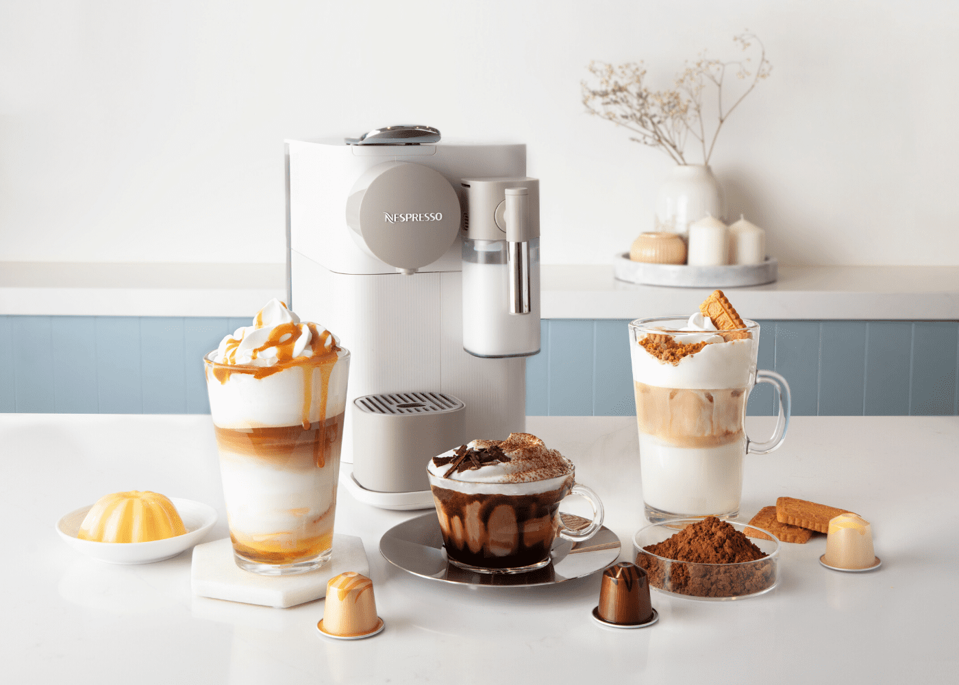 Nespresso Barista Creations: Flavoured coffees for dessert-inspired coffee indulgence at home