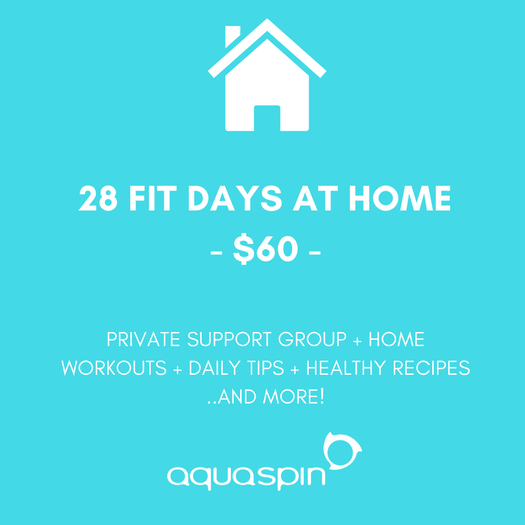 Aquaspin's fit-at-home program