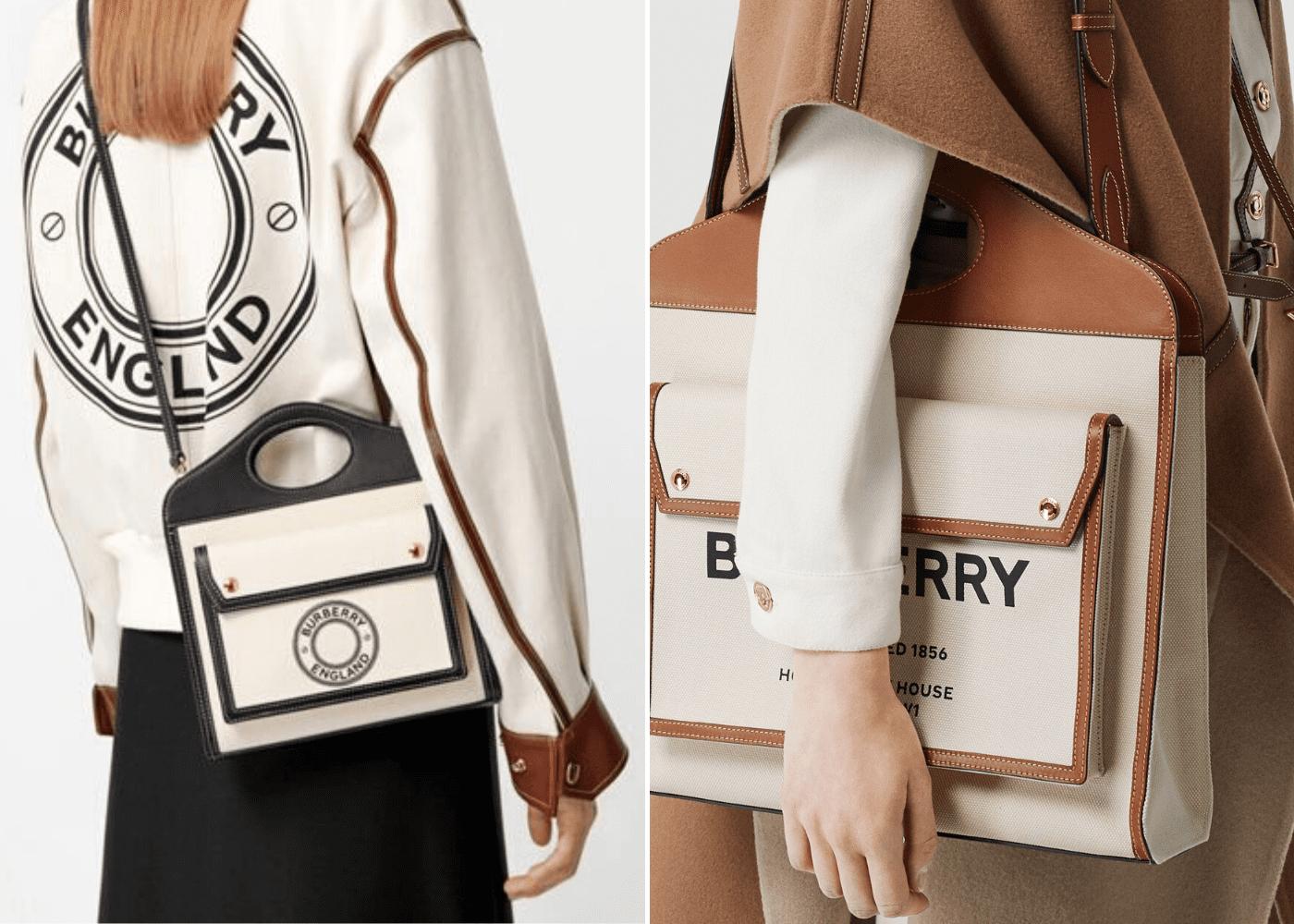 Spring Summer 2020 designer bags to shop online: Burberry Pocket