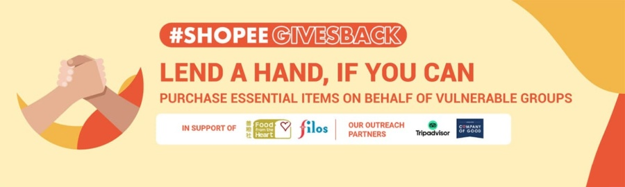 Shopee: Donate to charity
