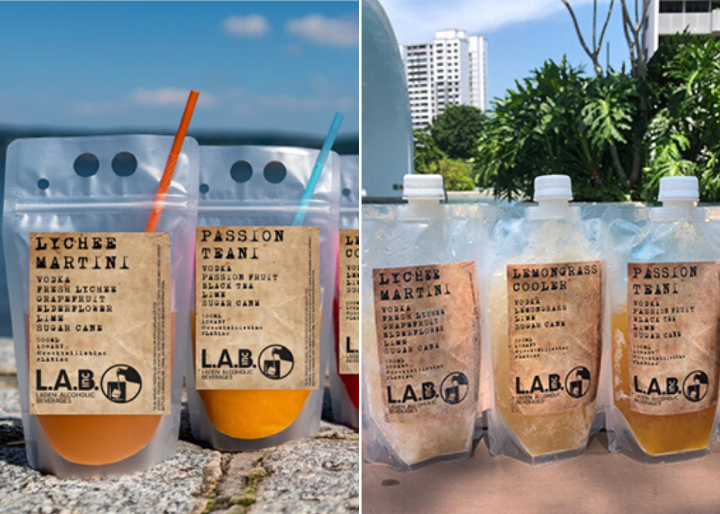 Lab Inc | Takeaway cocktails and beers
