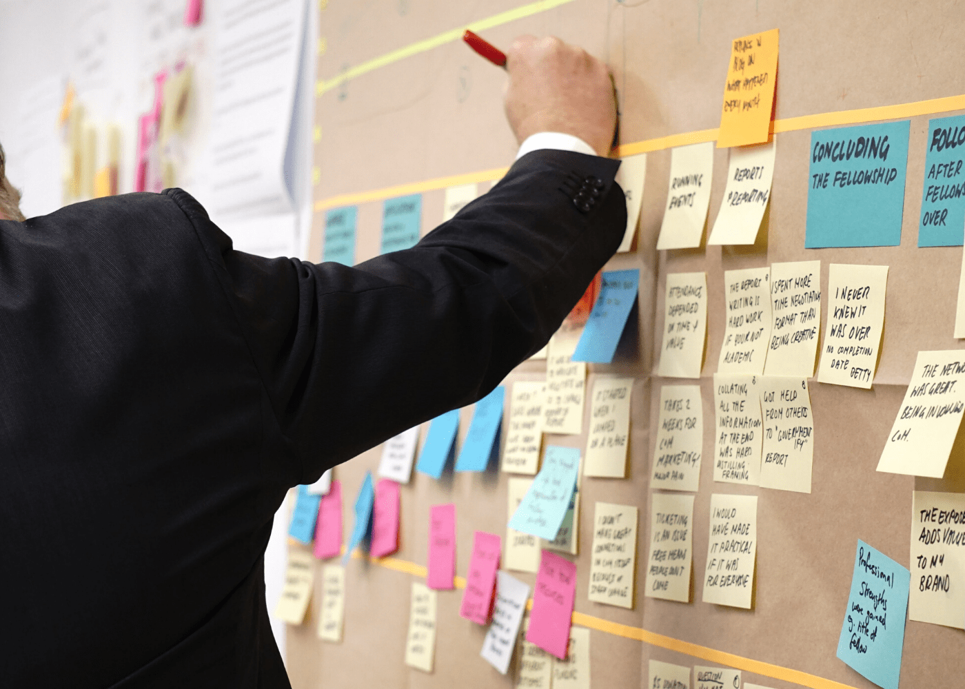With productivity apps, you don't need numerous sticky notes.