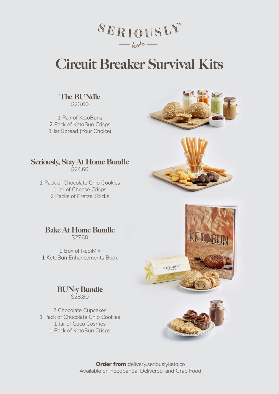 Seriously Keto's snack delivery