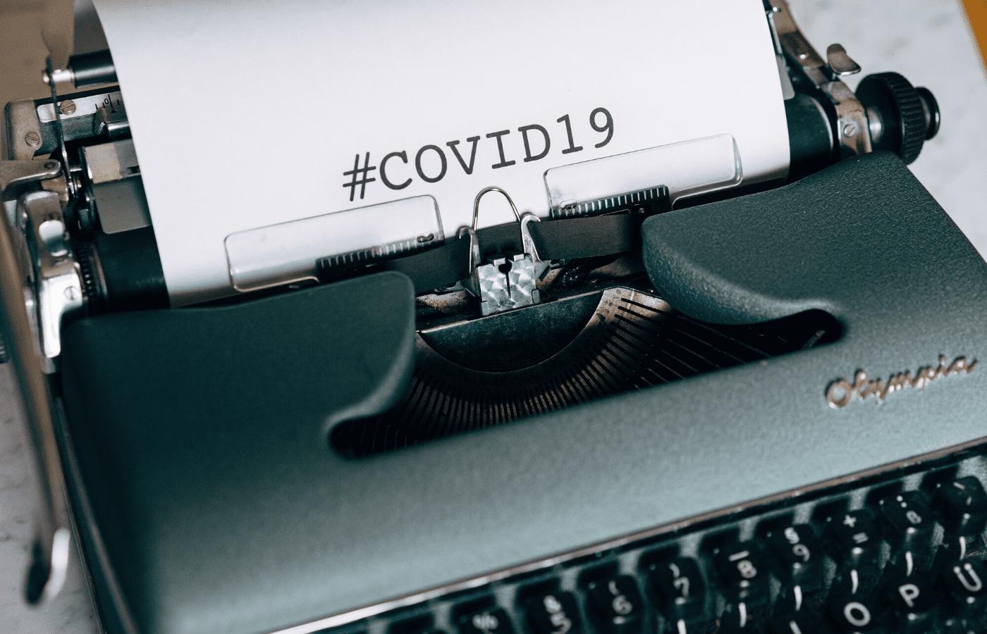 covid19 typewriter | covid-19 updates