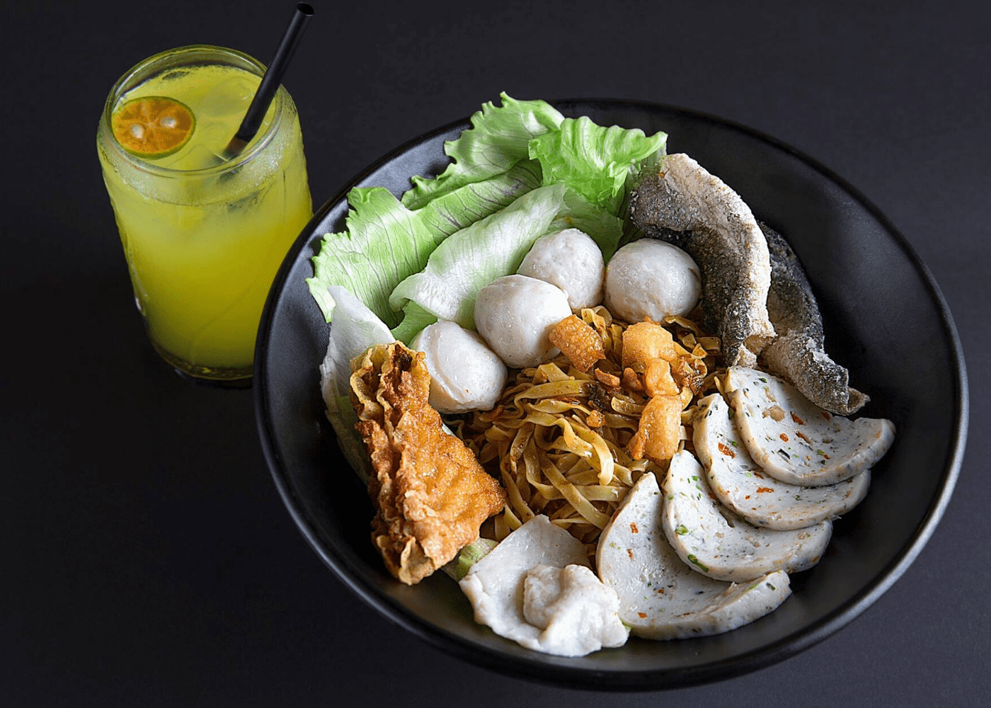 Hawker deliveries: Fishball Story