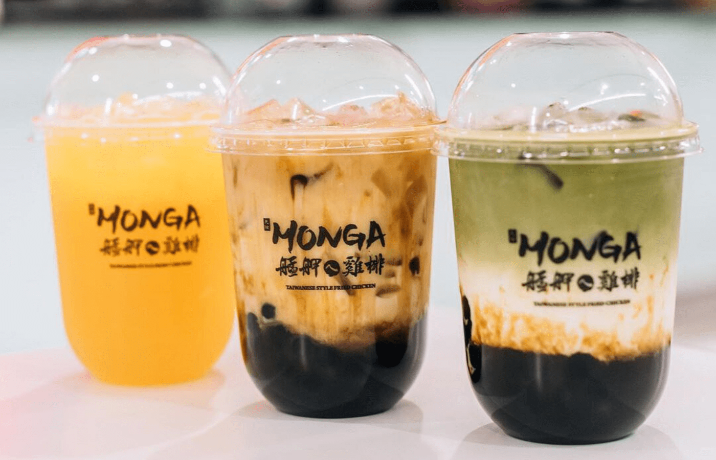 monga fried chicken | Where to get bubble tea in Singapore