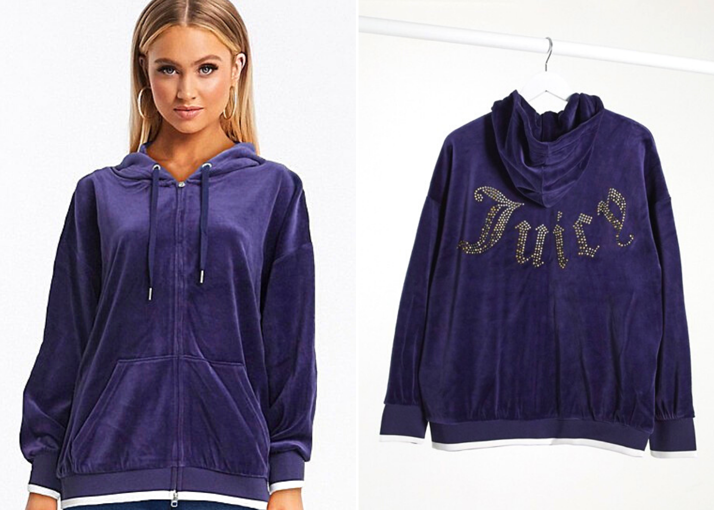 Throwback trends: velour tracksuits