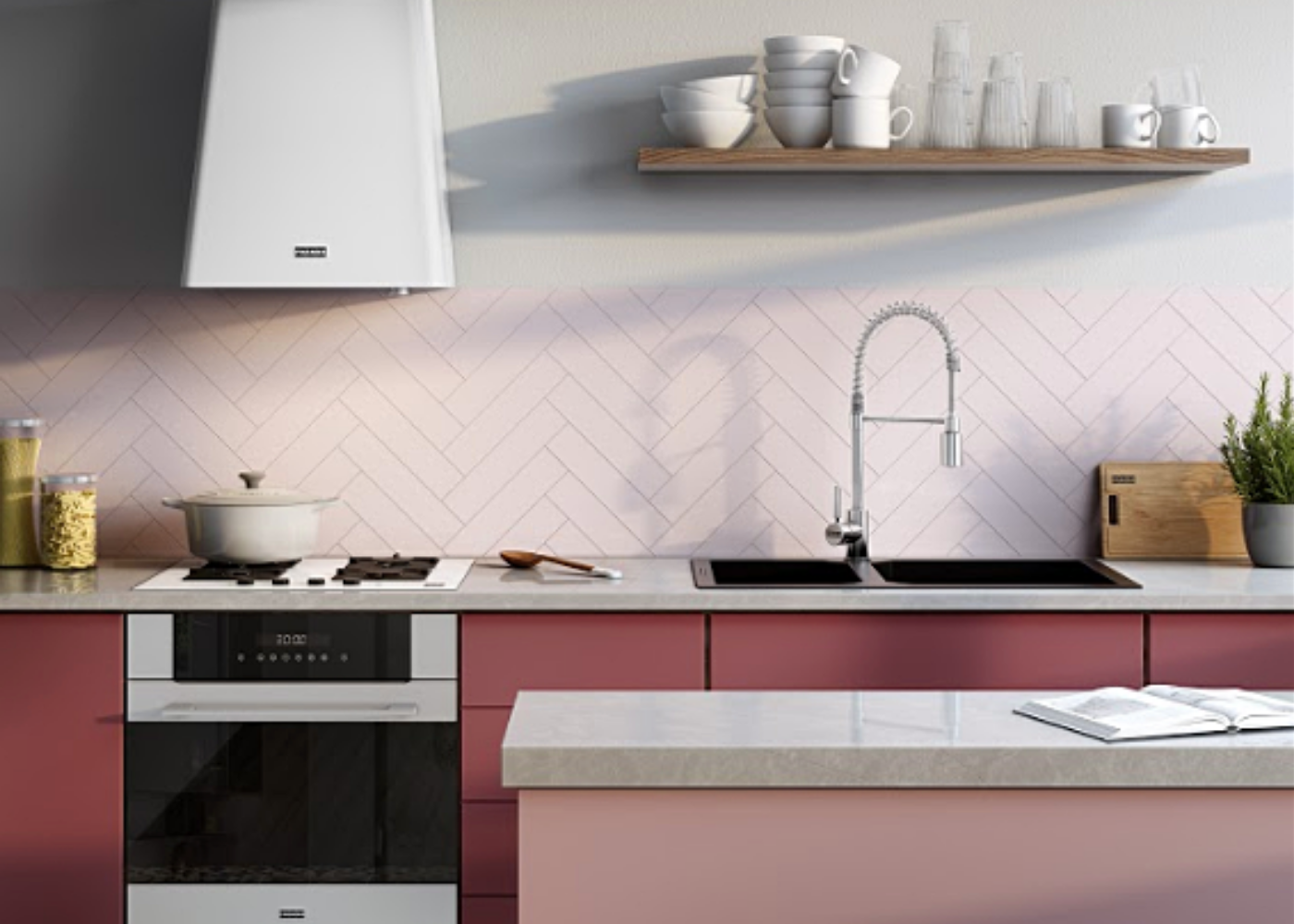 What makes an exceptional kitchen sink? Beauty, durability and hygiene