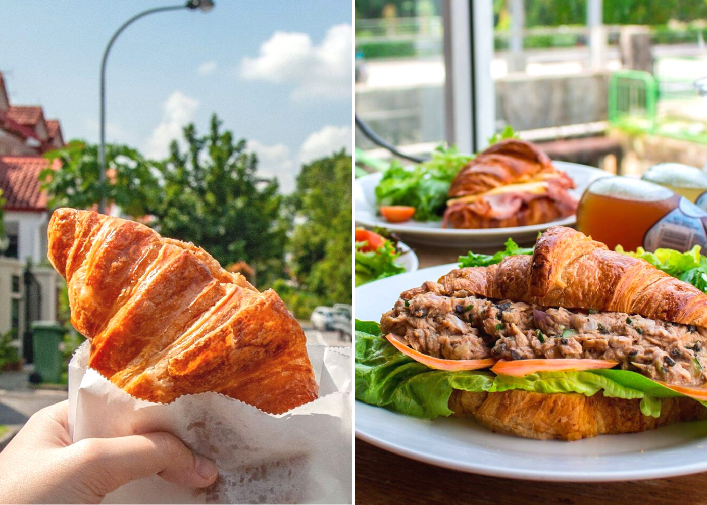 Best cafes for croissants in Singapore: Choupinette