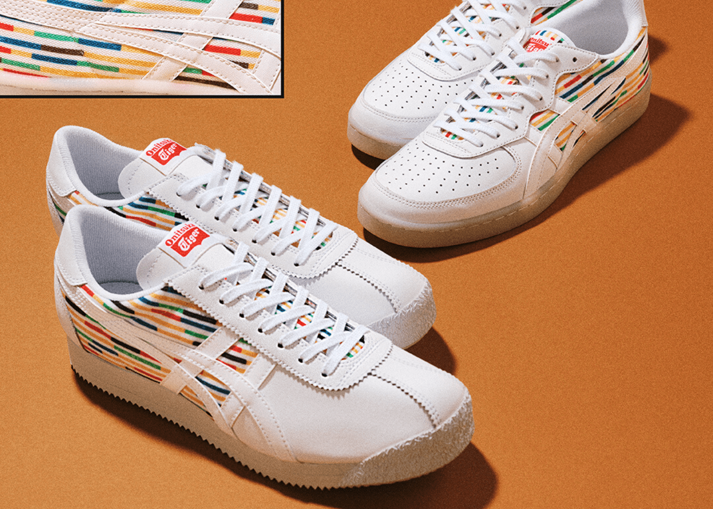 Upgrade your white sneakers with cool kicks from Onitsuka Tiger
