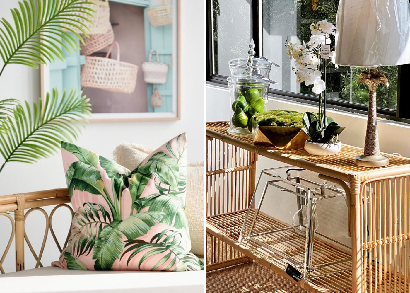 Shop online for tropical bohemian decor in Singapore