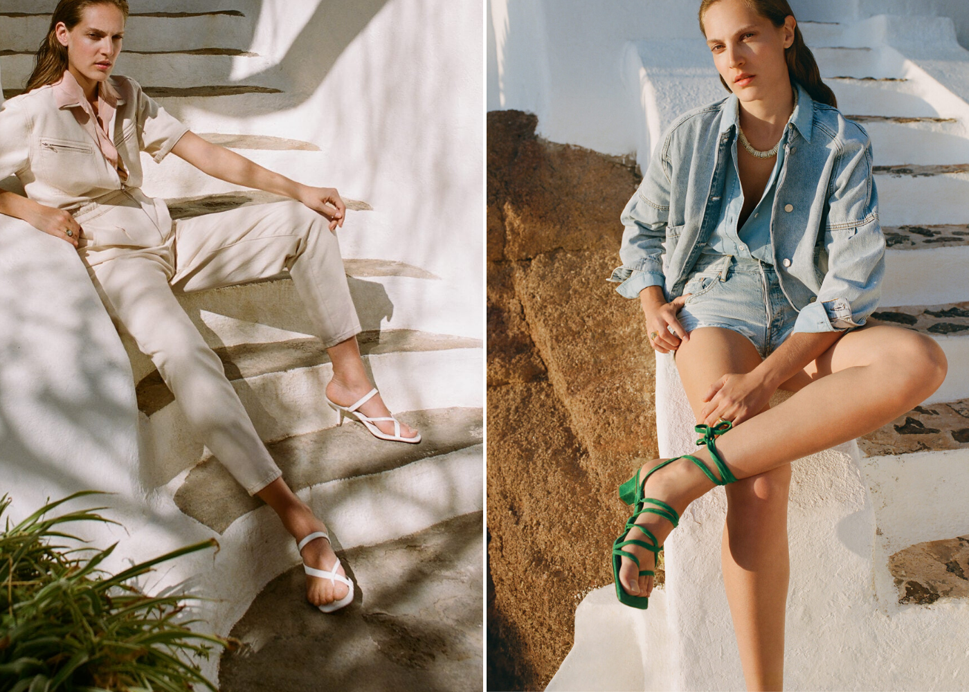 Throwback trends: Strappy heels