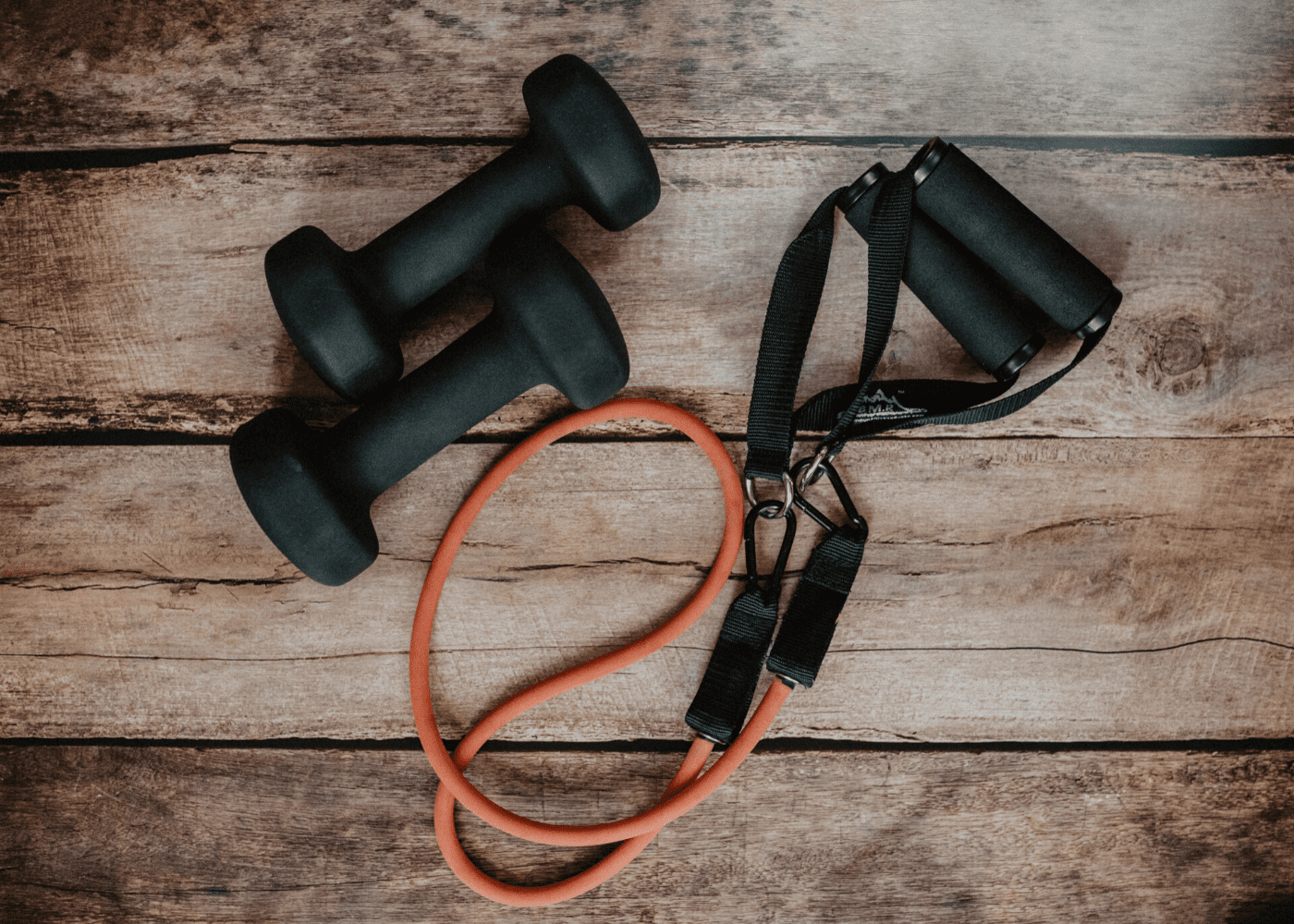 Dumbbells | skipping rope | home gym essentials