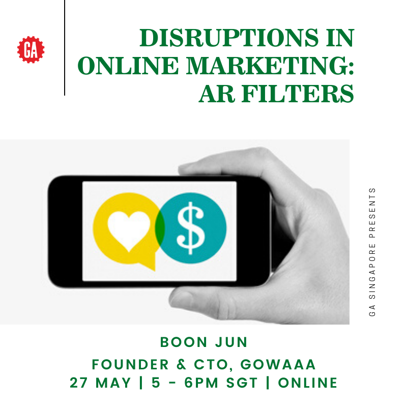 Disruptions in Online Marketing: AR Filters