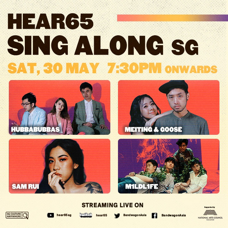 Hear65 Sing Along SG: A Digital Karaoke Concert Series