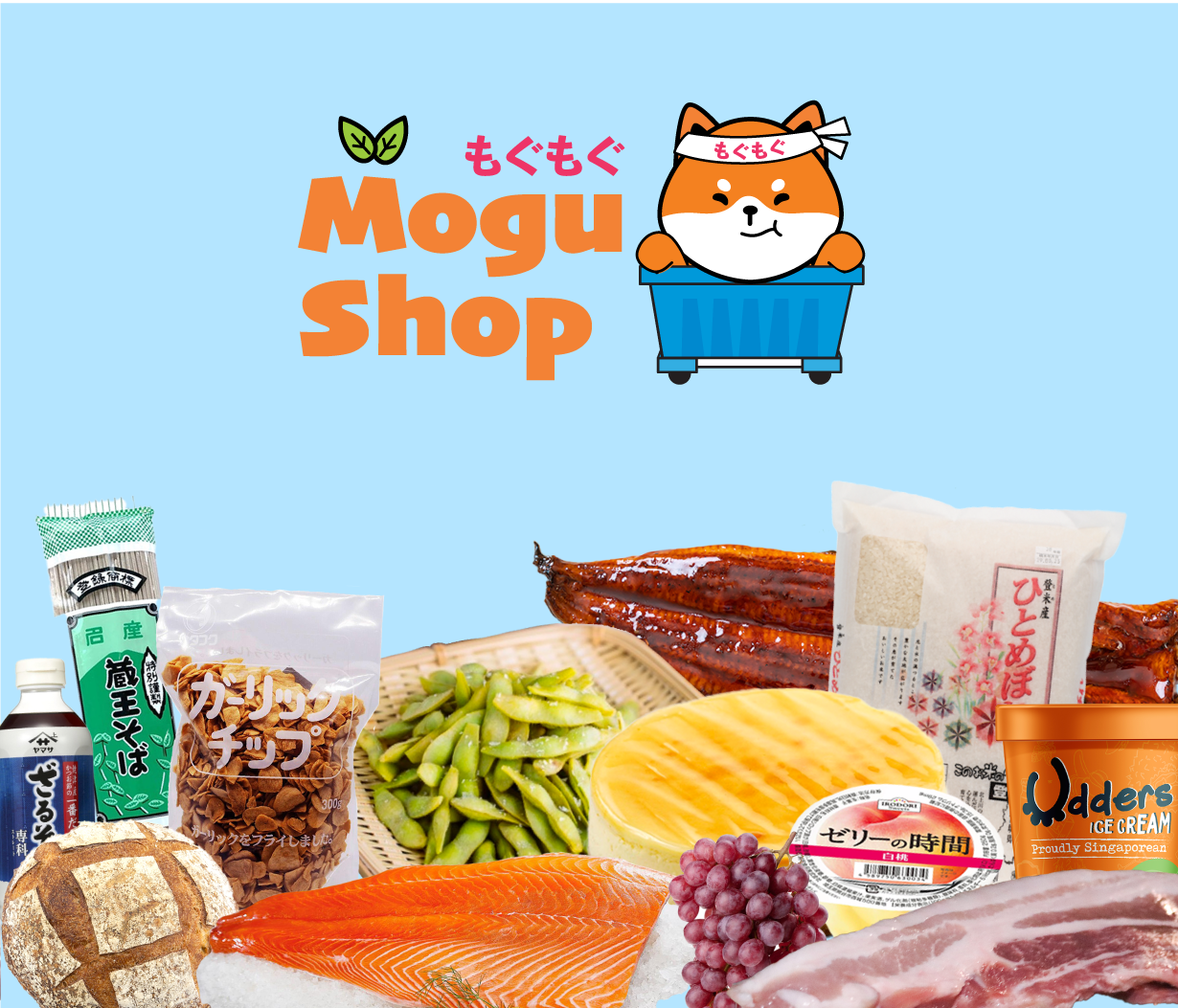 MoguShop: Grocery delivery