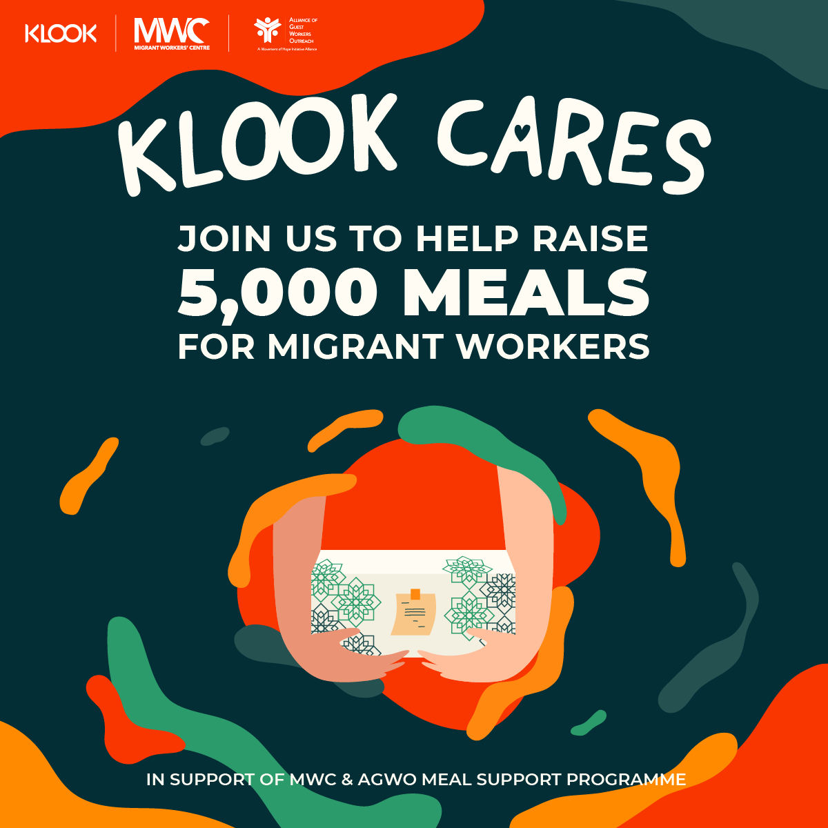 Klook Cares: Meals for migrant workers