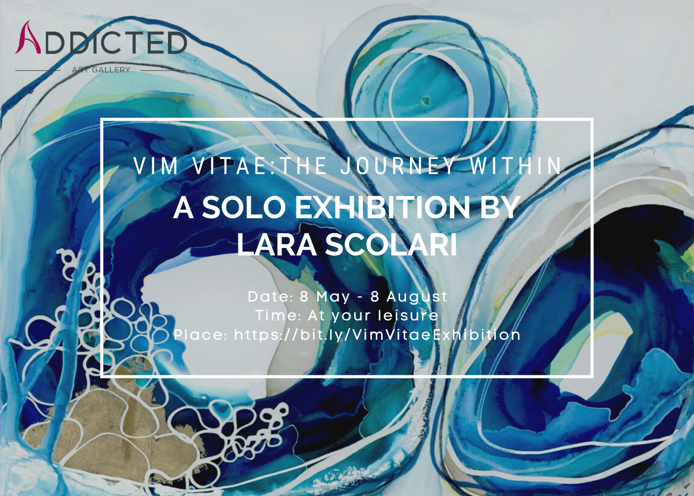 Vim Vitae: The Journey Within – Solo Exhibition by Lara Scolari