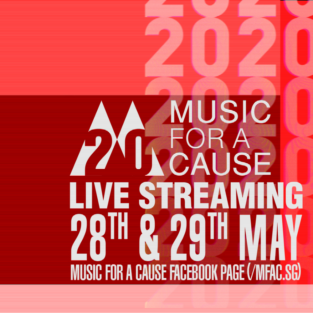 Music For A Cause 2020: Celebrate the Best of Local Music and Help Raise Funds for Musicians, Hawkers and Frontline Workers