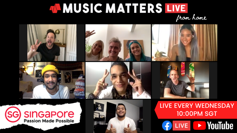 Music Matters Live From Home
