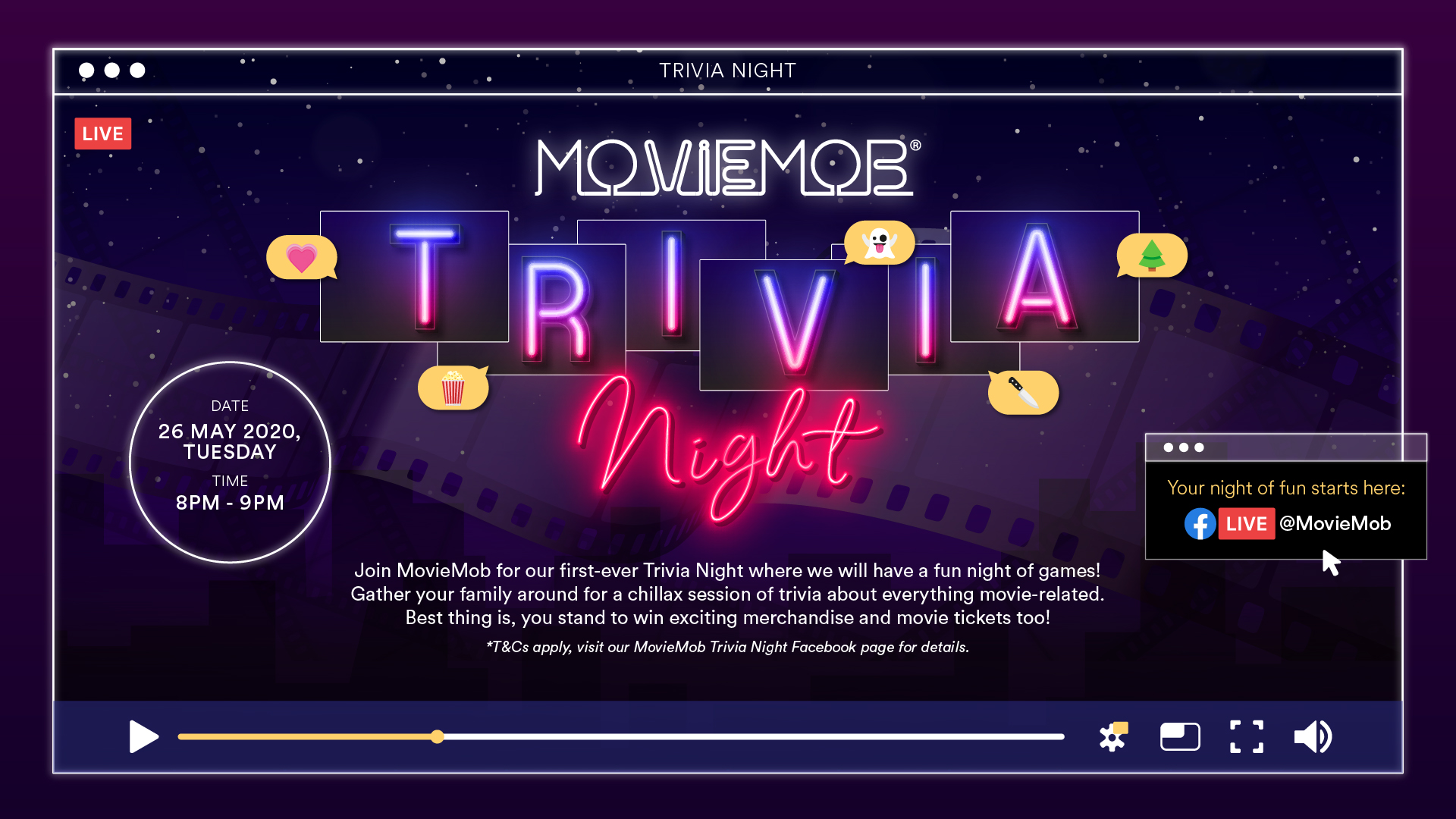 MovieMob Trivia Night
