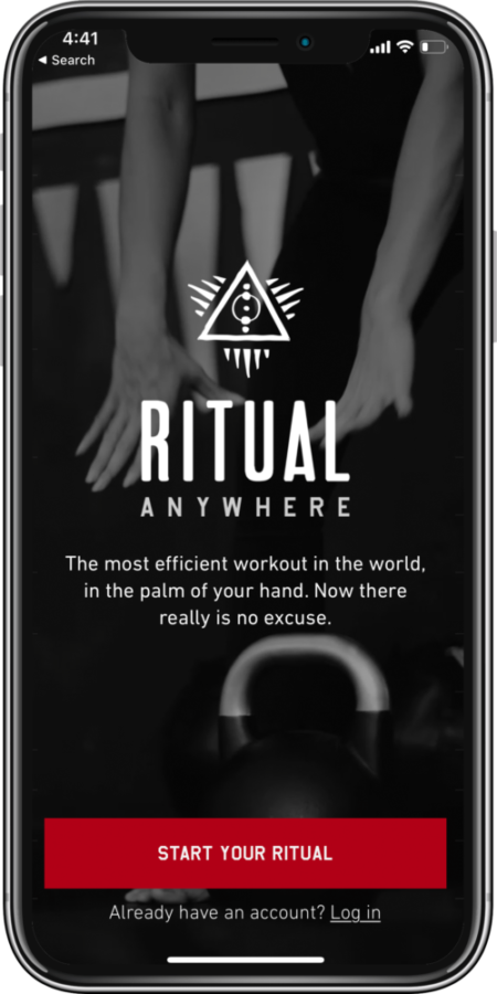 Ritual Anywhere: Fitness app