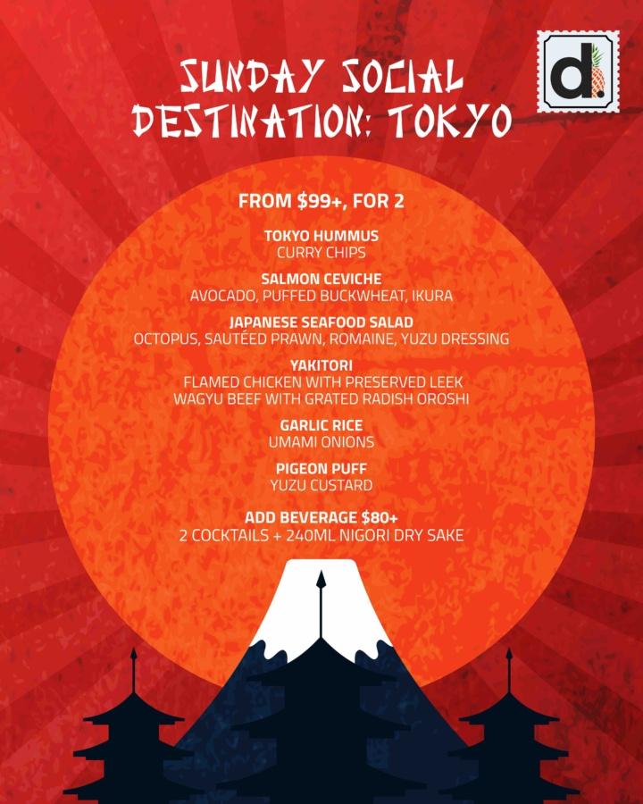 Sunday Social – Destination: Tokyo