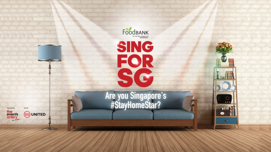 Sing For Singapore: Virtual Charity Talent Competition