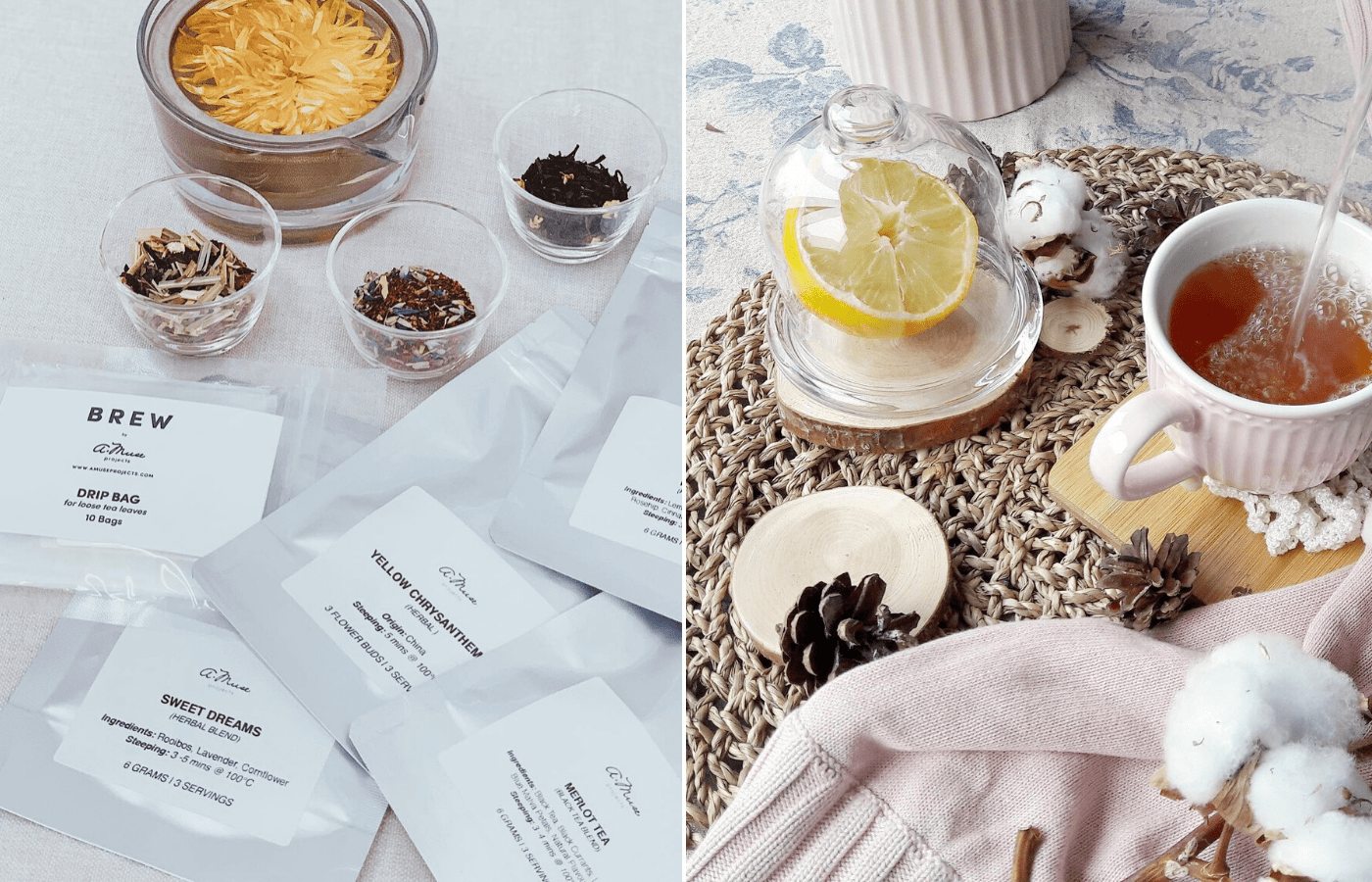 amuse projects tea care packages