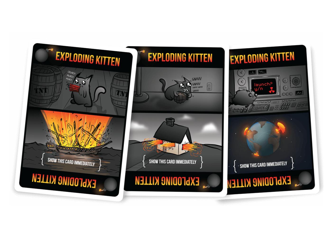 Exploding Kittens | alternative card games
