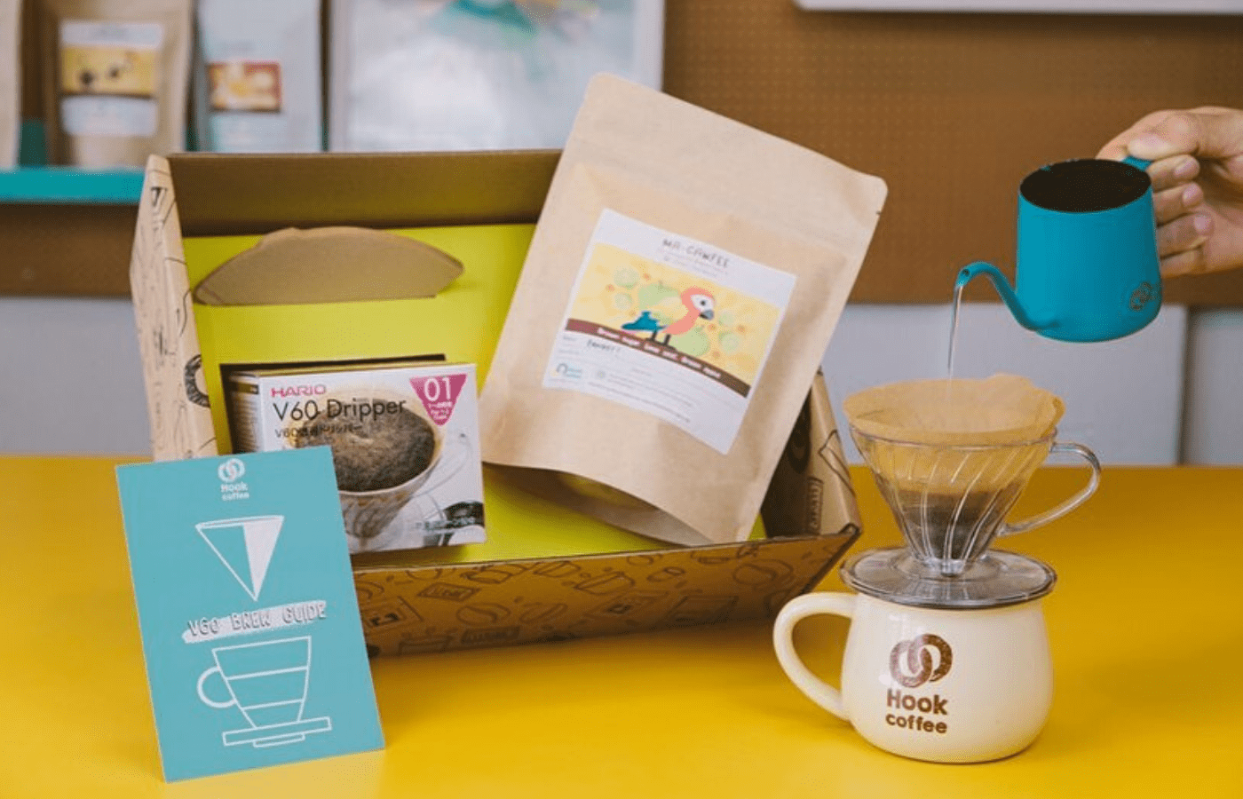 hook coffee care packages