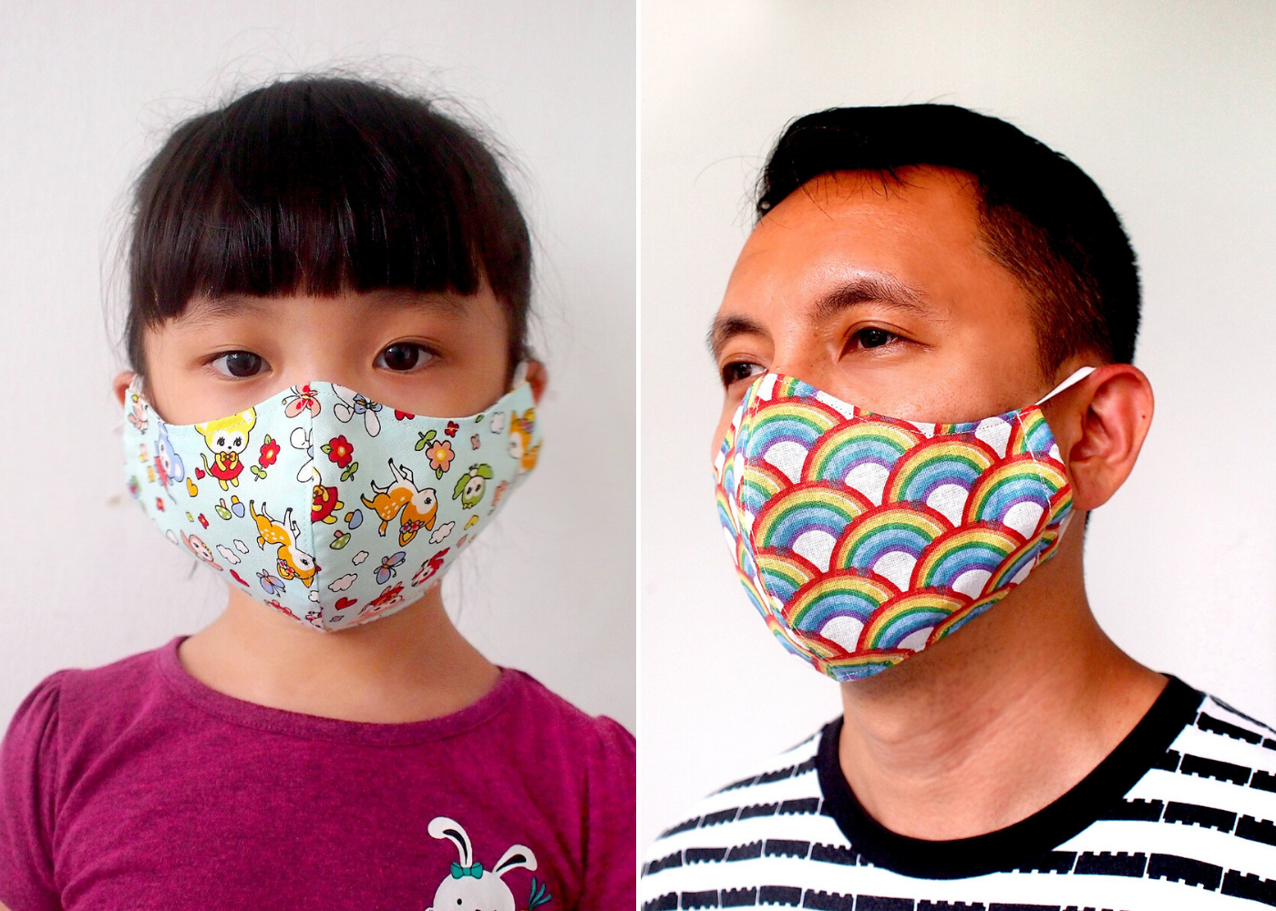 LittleOddForest face masks