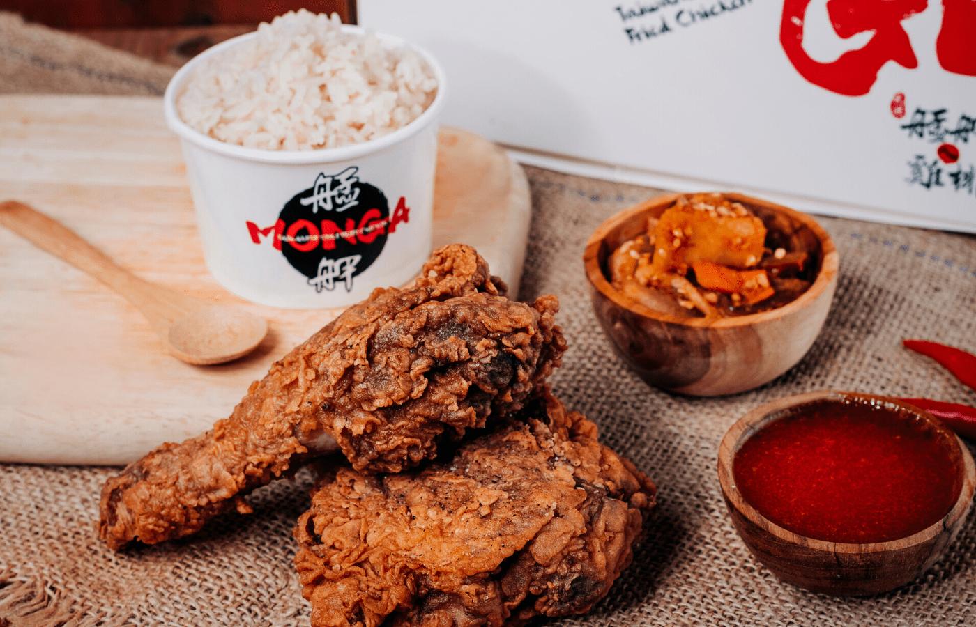monga chicken bento box delivery