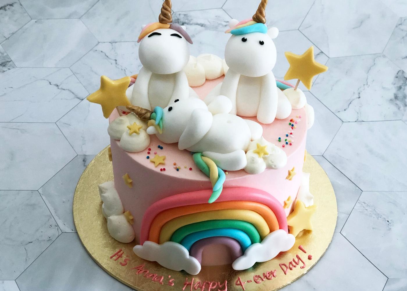 unicorn cake monice bakes | home bakers singapore