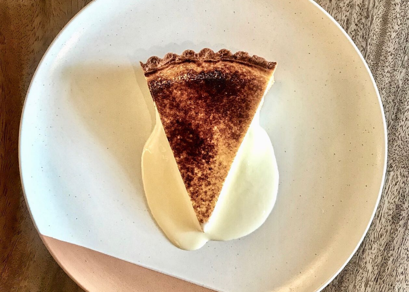 olivia restaurant and lounge | best burnt cheesecake in Singapore
